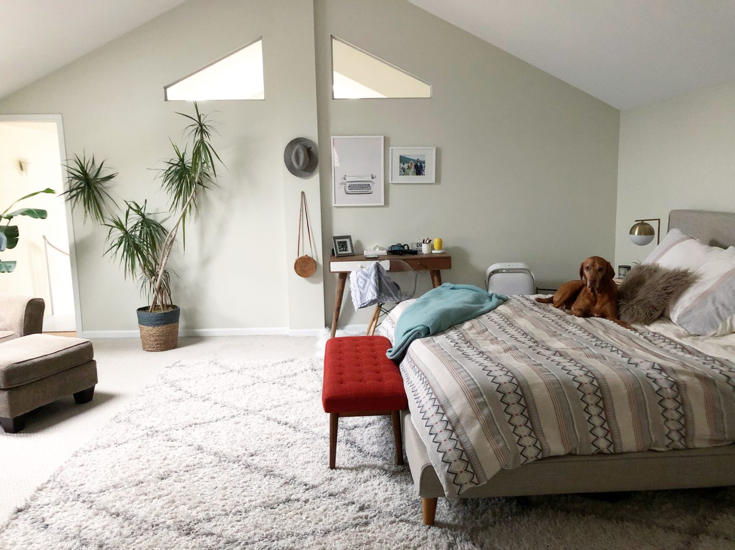 Peachy Our Bedroom Feature In Crate Barrel Magazine The Daily Tay Dailytribune Chair Design For Home Dailytribuneorg